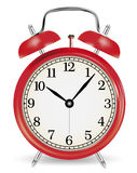 Alarm clock. Old-time alarm clock. Vector EPS-10 Royalty Free Stock Photography