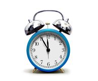 Alarm Clock over White Royalty Free Stock Photo