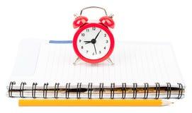 Alarm clock on pad Royalty Free Stock Photo