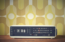 Alarm clock radio Stock Image