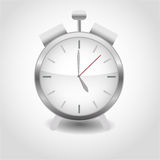 Alarm clock realistic Royalty Free Stock Images