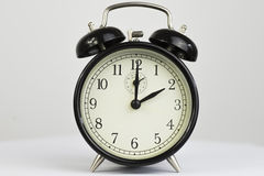 Alarm clock Retro two clock Stock Photography
