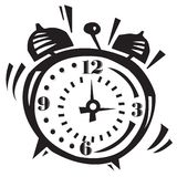 Alarm Clock Ringing Royalty Free Stock Photos