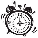 Alarm Clock Ringing. Illustration of alarm clock Going off Royalty Free Stock Photos