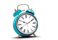 Alarm clock with roman numbers Royalty Free Stock Photos