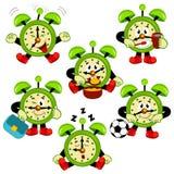 Alarm Clock Routine Stock Image