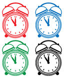 Alarm Clock Set Royalty Free Stock Image