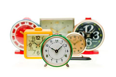 Alarm clock set Royalty Free Stock Photos