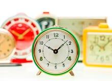 Alarm clock set royalty free stock photography