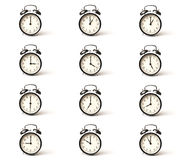 Alarm clock set Royalty Free Stock Image