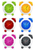 Alarm clock set Royalty Free Stock Images