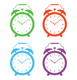 Alarm clock set Royalty Free Stock Photography