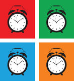 Alarm clock set Stock Images