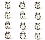 Alarm clock set half hour Stock Photography