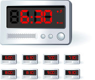 Alarm Clock Set Stock Image