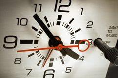 Alarm clock set to six thirty Stock Image