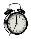 Alarm clock seven o clock Royalty Free Stock Images