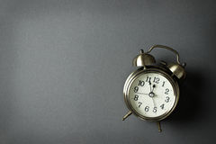Alarm clock showing almost 12 o clock Royalty Free Stock Photo