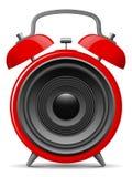 Alarm clock with speaker Stock Image