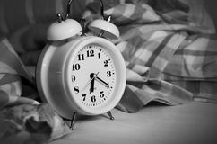 Alarm Clock, Stand Up, Time Of Stock Photography