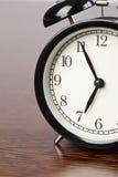 Alarm clock on table Royalty Free Stock Photo