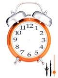 Alarm clock template Royalty Free Stock Photos