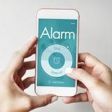 Alarm Clock Time Management Concept Royalty Free Stock Photos