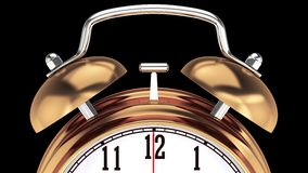 Alarm Clock. Time to wake up Royalty Free Stock Photography