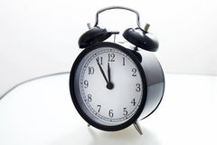 Alarm clock 5 to 12 Stock Images