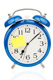 Alarm clock to the start of school Royalty Free Stock Photo