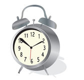 Alarm Clock Vector. Classic Watch Stock Photos