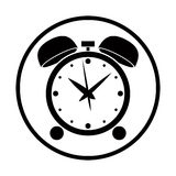 Alarm clock vector icon. Royalty Free Stock Photos