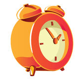 Alarm clock vector illustration Stock Photos