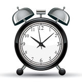 Alarm clock vector illustration. Stock Photography