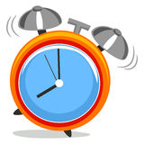 Alarm Clock. Vector Illustration of Alarm Clock Royalty Free Stock Image