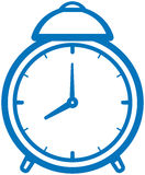 Alarm clock vector illustration Royalty Free Stock Image