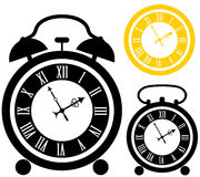 Alarm clock. Vector illustration (EPS 10 Royalty Free Stock Images