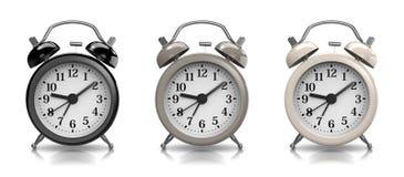 Alarm Clock Vintage Collection Stock Photos