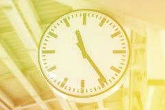 Alarm clock,vintage color Royalty Free Stock Image