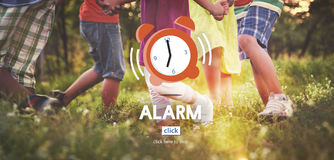 Alarm Clock Wake Up Morning Concept stock images