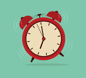 Alarm clock, wake-up time Royalty Free Stock Image