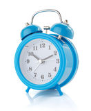 Alarm clock watch on white background Stock Photography