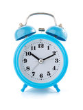Alarm clock watch on white background Stock Photos