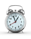 Alarm clock on white background Royalty Free Stock Images
