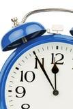 Alarm clock on white background Stock Image
