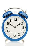Alarm clock on white background Royalty Free Stock Photos