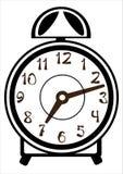 Alarm clock  on white Stock Image