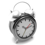Alarm clock. On a white background Stock Images