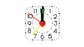 Alarm clock stock video