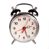Alarm clock on white background Stock Image